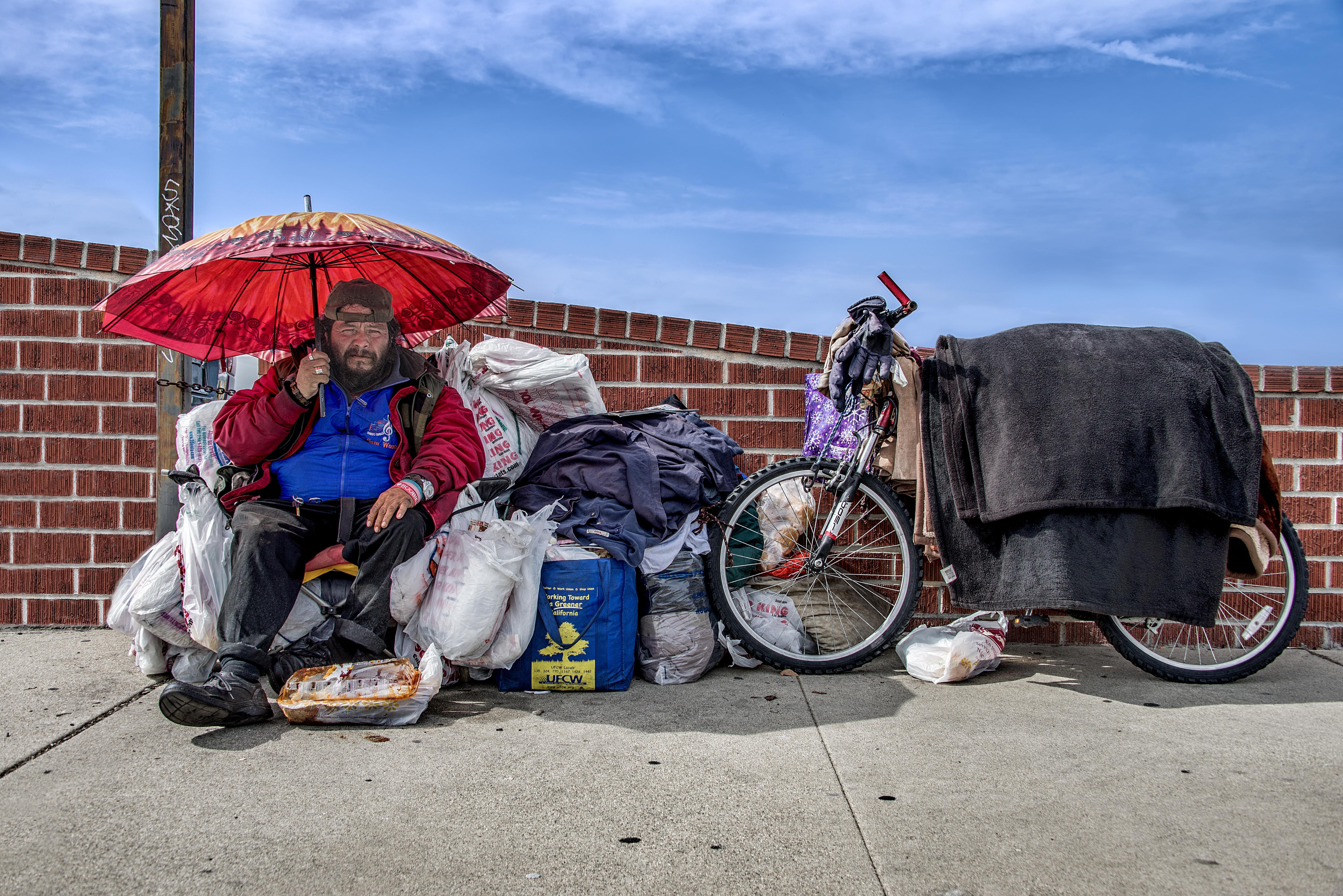 Canicule SDF chaleur été sans domicile homeless